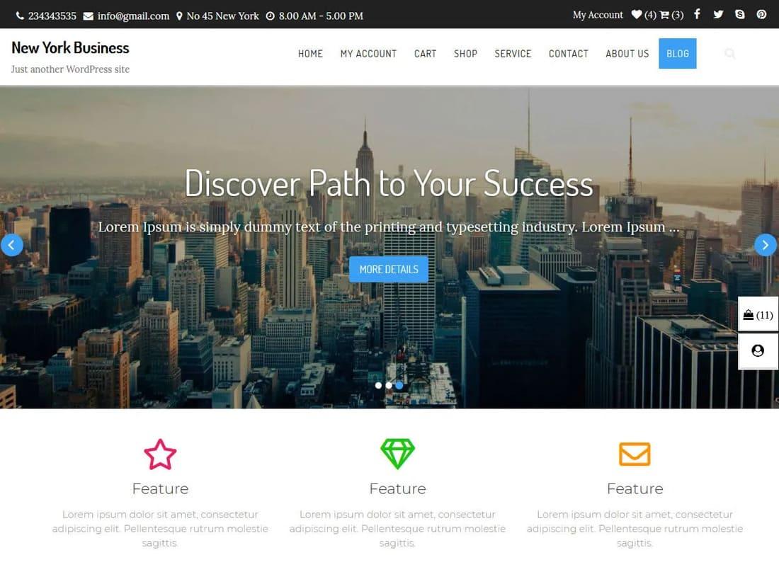 Crear una página web WordPress
